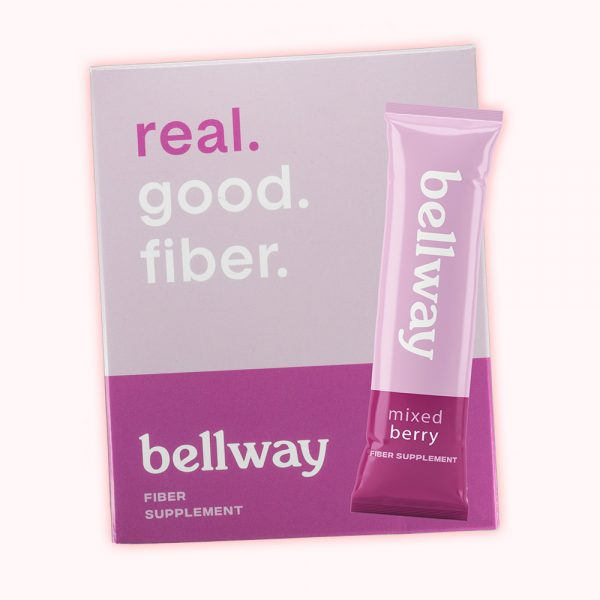 bellway natural fiber mixed berry flavor